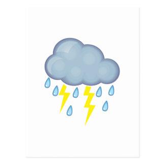 Stormy Weather Postcard