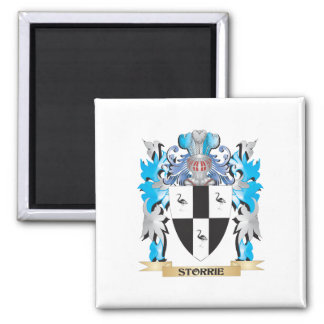 Storrie Coat of Arms - Family Crest Square Magnet