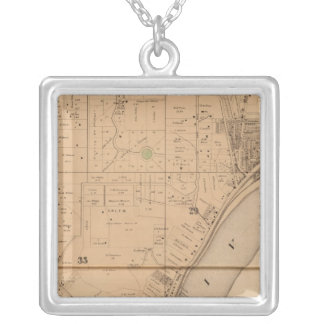Storrs, Ohio Silver Plated Necklace