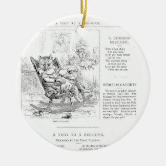 Story Book Bees Ornament