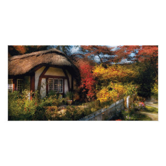 Story Book - Grannies Cottage Photo Card Template