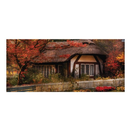 Story Book - Nana's House Rack Card Template