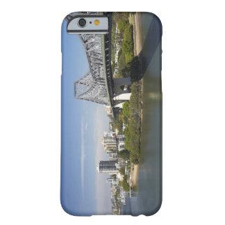 Story Bridge, Brisbane River, and Kangaroo Barely There iPhone 6 Case