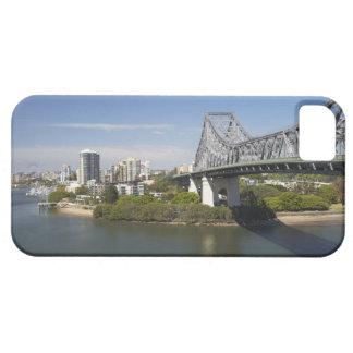 Story Bridge, Brisbane River, and Kangaroo iPhone 5 Covers