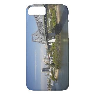 Story Bridge, Brisbane River, and Kangaroo iPhone 8/7 Case