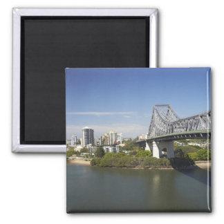 Story Bridge, Brisbane River, and Kangaroo Magnet