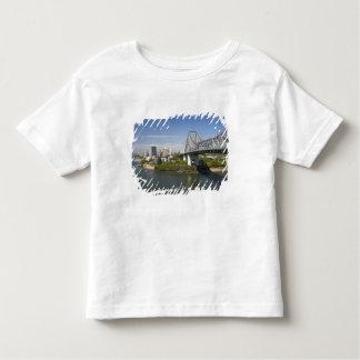 Story Bridge, Brisbane River, and Kangaroo Toddler T-Shirt