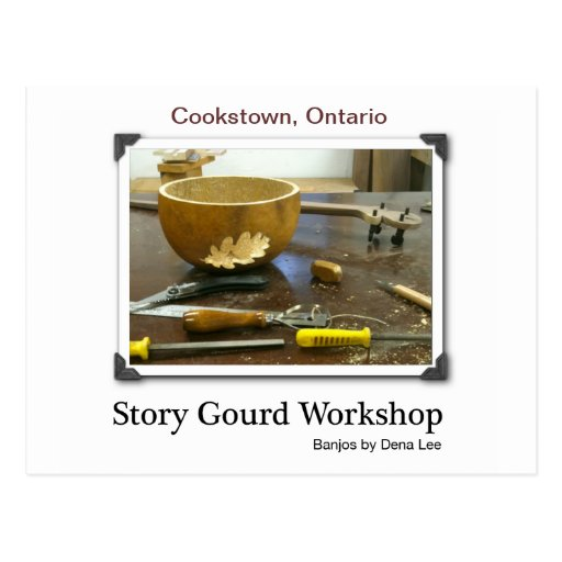 Story Gourd Post Card