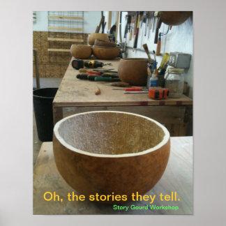 Story Gourd Poster- Workshop Poster