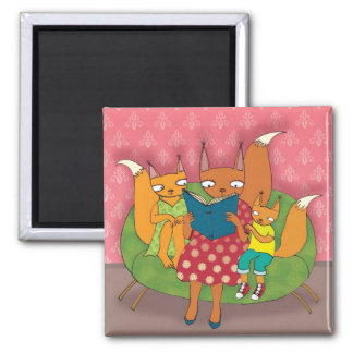 Story Square Magnet