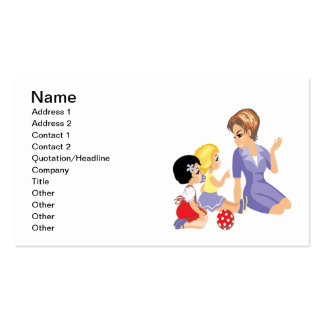 Story Time Business Card Template