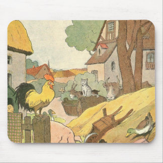 Storybook Farm Aminals Mouse Pad