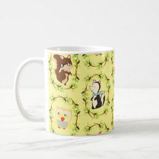 storybook forest coffee mug