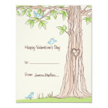 "Storybook Kids Valentine Card 4.25"" X 5.5"" Invitation Card"