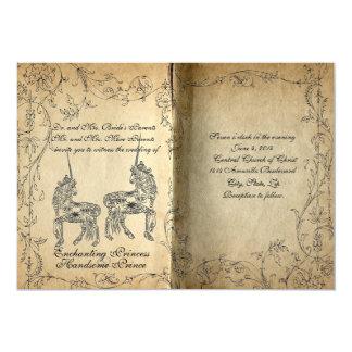 Storybook Perfect Unicorn Wedding Invitation