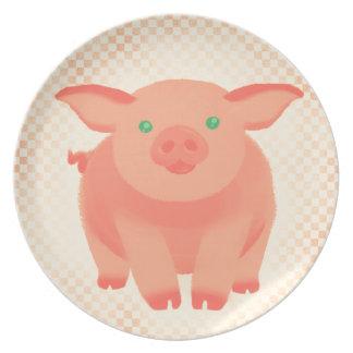 Storybook Pig Plate