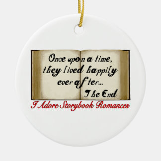 Storybook Romances Happily Ever After Christmas Ornament