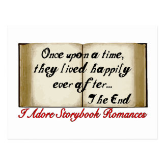 Storybook Romances Happily Ever After Postcard