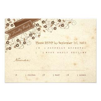 Storybook RSVP Response Card Custom Invitation