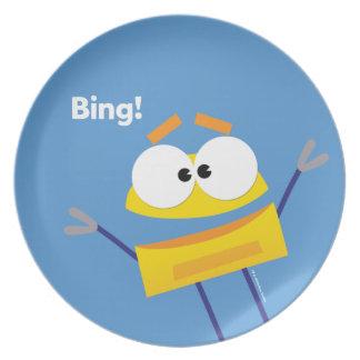 StoryBots Bing Plate