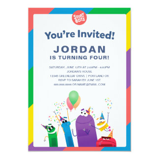 StoryBots Birthday Card