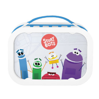 StoryBots Friends Lunch Box