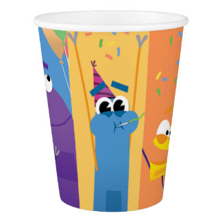 StoryBots Party Paper Cup
