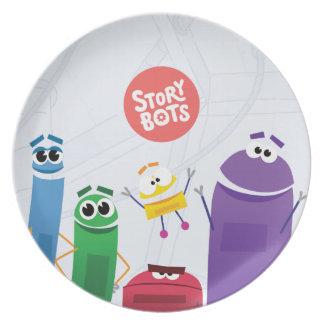 StoryBots Plate