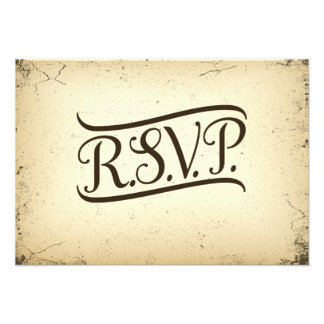 Storyline Wedding RSVP Response Card