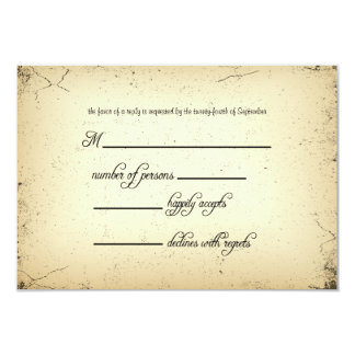 Storyline Wedding RSVP Response Card