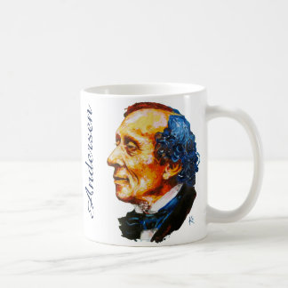 Storyteller - H. C. Andersen Basic White Mug