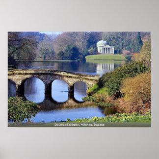 Stourhead Garden, Wiltshire, England Posters