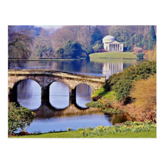 Stourhead Garden, Wiltshire  flowers Postcard