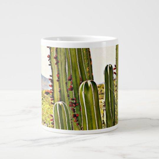Stove Pipe Cactus Coffee Cup/Mug Large Coffee Mug
