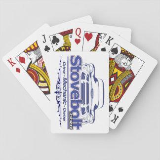 Stovebolt Stacked Deck Poker Deck