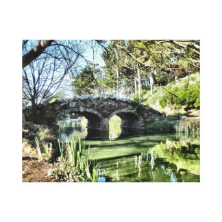 Stow Lake Bridge Canvas Print