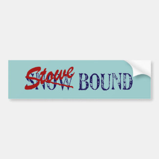 Stowe Bound Bumper Sticker