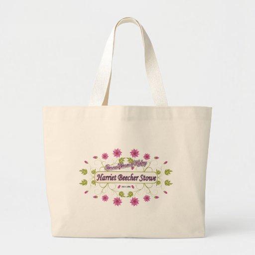 Stowe ~ Harriet Beecher Stowe / Famous USA Women Canvas Bag