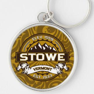 Stowe Logo Keychain