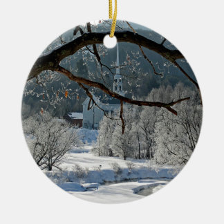 Stowe Vermont Christmas Ornament