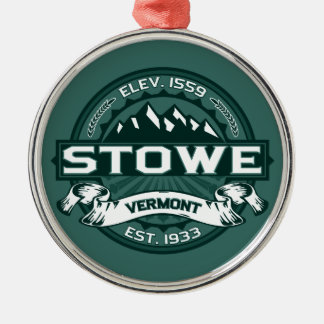 "Stowe ""Vermont Green"" Christmas Ornament"