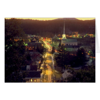 Stowe Village at Dusk Card