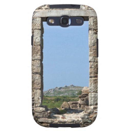 Stowe's Hill Window, Minions, Cornwall, UK Samsung Galaxy SIII Cases