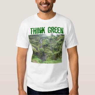 STP80115, Think, Green Shirt