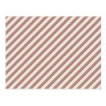 [STR-BRO-1] Brown and white striped