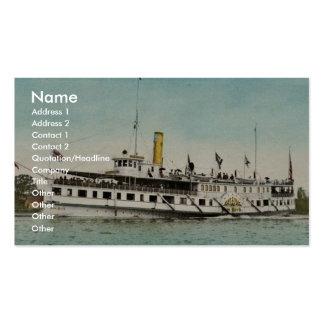 Str New York Thousand Islands classic Photochr Business Card Template