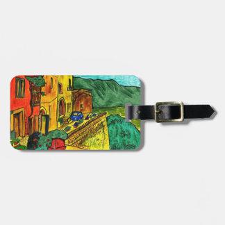Strada di Artisti Luggage Tag