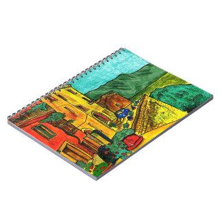 Strada di Artisti Notebook