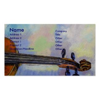 Stradivarius Business Card