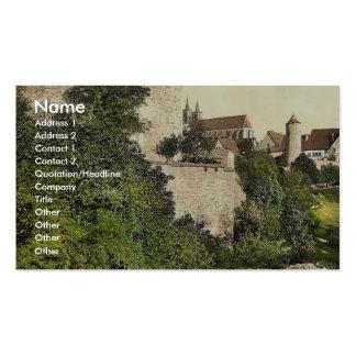 Straft Tower, Rothenburg (i.e. ob der Tauber), Bav Pack Of Standard Business Cards